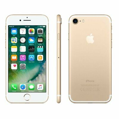 AU380.99 • Buy New In Sealed Box Apple IPhone 7 Unlocked Smartphone/128GB/GOLD