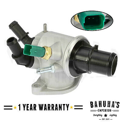 £17.20 • Buy THERMOSTAT & HOUSING WITH SENSOR FOR SAAB 9-3 (YS3F) / 9-5 (YS3E) 1.9 TiD DIESEL