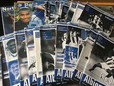 West Bromwich Albion Brom WBA Home Programmes 2000/01 Division One League & Cup  • 2.75£