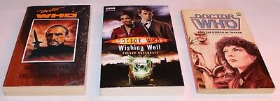 Doctor Who Paperback Books Bundle Of 3 (great Condition)!!! • 4.99£