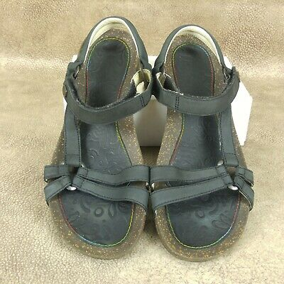 f0606ce89 Teva Ventura Womens Strappy Sandals Size 10 Shoes Brown Leather Adjustable  • 27.99