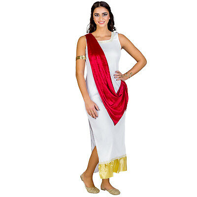 Women's Costume Olympic Goddess Aphrodite Halloween Fancy Dress Outfit Carnival  • 25.49£