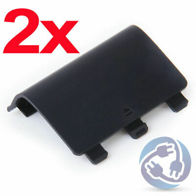 $4.55 • Buy LOT 2x Replacement Battery Shell Cover For Xbox One Wireless Controller Black