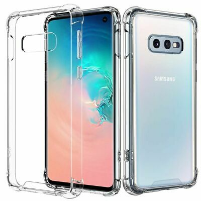 AU4.95 • Buy Shockproof Tough Gel Clear Case Cover For Samsung Galaxy S7 Edge S8 S9 S10 Plus