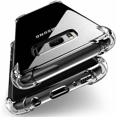 AU4.95 • Buy Shockproof Tough Gel Clear Case Cover For Samsung Galaxy S7 S8 S9 Plus S10 J2 J5
