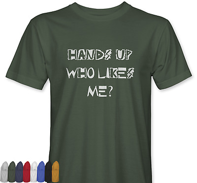 Hands Up Who Likes Me Inspired By Young Ones T-shirt Funny Gift Mens Womens Punk • 9.99£
