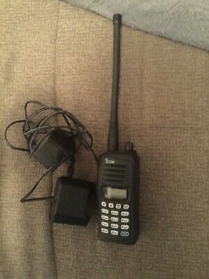 1c7f58d2900 ICOM IC-A14 VHF Air Band Transceiver Hand Held Aircraft Radio • 170.00