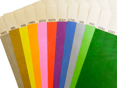 £4 • Buy Plain Tyvek Wristbands 100 To 500 (19mm)    FAST AND FREE DELIVERY