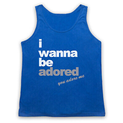 I Wanna Be Adored Unofficial The Roses Madchester Hit Adults Vest Tank Top • 17.99£