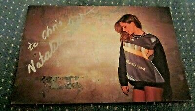 $ CDN12.69 • Buy Natalia Lesz Actress Autographed Signed 3.5X5.5 Photo  The Test   Weiser
