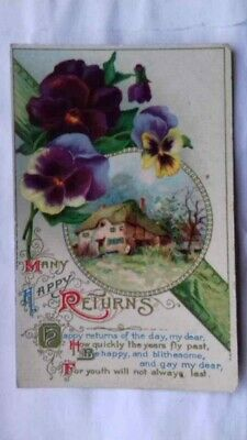 Agreeting Postcard, Real Antique, 1917, Beltinge, Herne Bay, Kent, Posted • 11.88£