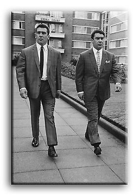 £24.99 • Buy Large Wall Art Canvas Picture Print Of Ronnie & Reggie Kray Framed 20 X30