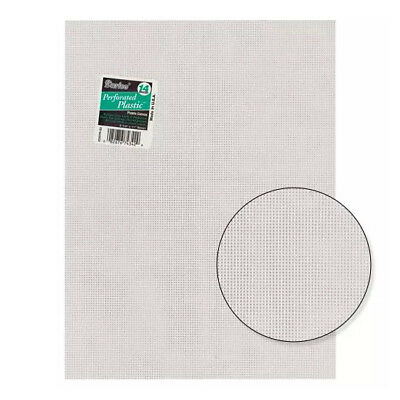 £47 • Buy 12 X Plastic Canvas Sheets - By Darice - 14 Count Mesh - #33275-1 - Clear