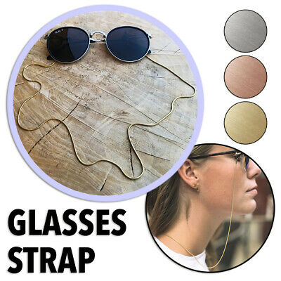 AU6.95 • Buy Sunglasses Eyewear Reading Glasses Metal Chain Band Neck Cord Holder Steel Strap