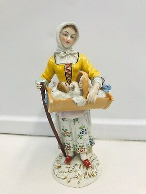 $ CDN65.49 • Buy RARE Capodimonte Germany Porcelain Figurine Woman With Baby 8.25  Crown N Mark