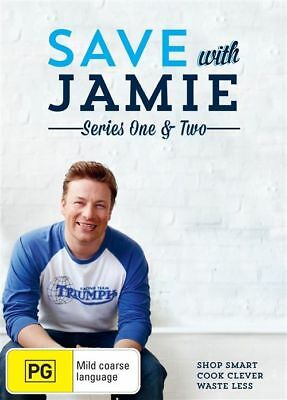 AU34.95 • Buy A4 BRAND NEW SEALED Save With Jamie : Series 1-2 (DVD, 2015, 4-Disc Set)