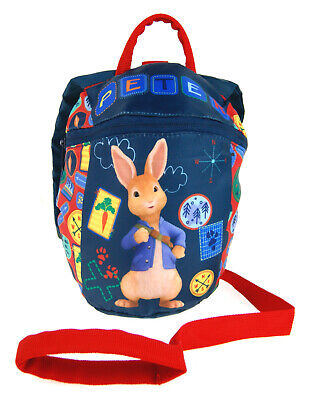 Peter Rabbit Backpack With Reins Kids Safety Harness Rucksack Nursery Toddlers • 12.95£