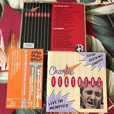 £49.69 • Buy Charlie Feathers Live In Memphis Rockabilly Japan Obi Cd