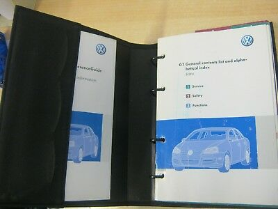 $25.65 • Buy VW  JETTA   HANDBOOK PACK OWNERS MANUAL WALLET 2005-2008 Inc Sat Nav DVD , W28