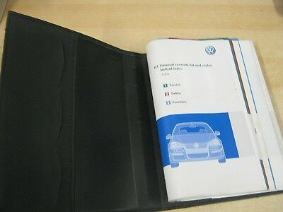 $33.09 • Buy VW  JETTA   HANDBOOK PACK OWNERS MANUAL WALLET 2005-2008 Inc Sat Nav Rns