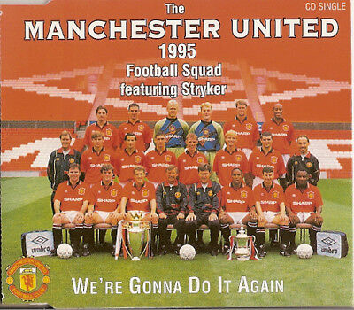 Manchester United 1995 Football Squad – We're Gonna Do It Again - UK CD Single • 1.99£