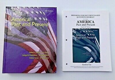 $24.95 • Buy America Past And Present 8th & AP Edition 2007 Pearson  0131346865 Bundle Of 4