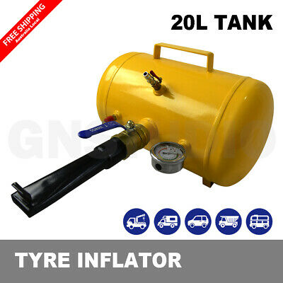 AU88.87 • Buy 5 Gallons Compact  Air Bead Seater Tyre Tire Inflator Blaster Truck Tractor 20L