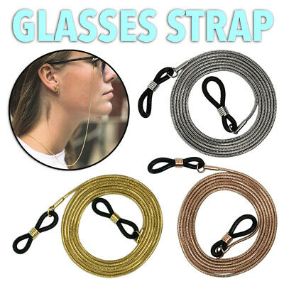 AU6.95 • Buy Unisex Eye Glasses Sunglasses Spectacles Eyewear Chain Cord Lanyard Holder Strap
