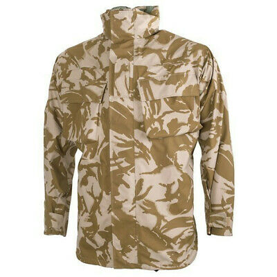 1a3f2df56f1c4 Genuine British Army Desert DPM MVP Combat Jacket, Waterproof Rain Jacket.  • 59.95$
