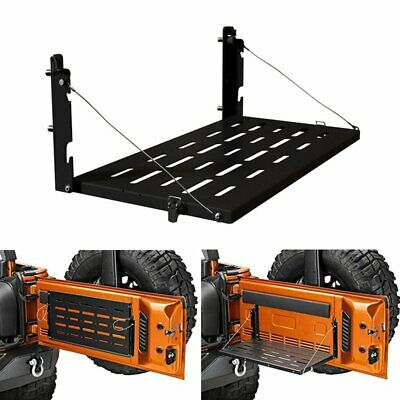 AU139.95 • Buy Tailgate Table Rear Foldable Storage Cargo Shelf For Jeep Wrangler JK 2007-2018