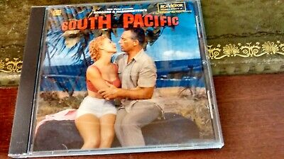 SOUTH PACIFIC- 1958 Movie/Film Soundtrack CD (Rodgers And Hammerstein Musical) • 2.69£