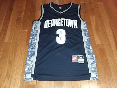 ad60161a5301 Nike Georgetown Hoyas Allen Iverson Jersey Size M Rare Vtg 76ers Mvp The  Answer • 59.99