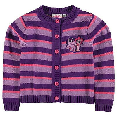 MY LITTLE PONY:GORGEOUS STRIPE CARDIGAN, 3/4,4/5,5/6,7/8,9/10yr,NWT • 11.69£