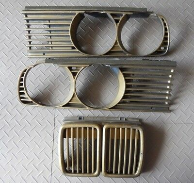 $105 • Buy BMW E30 FRONT GRILLE SET (Left + Right + Center) 1981 THRU 1994