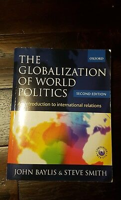 £5.99 • Buy The Globalization Of World Politics: An Introduction To International Relations…
