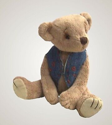 Bertram Bear Soft Toy Sewing Kit By Pcbangles.  This Kit Makes 9  Tall Ted • 18.99£