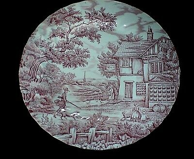 £8.50 • Buy MYOTT THE HUNTER At The Swan  Red 10 Inch Plate X 1