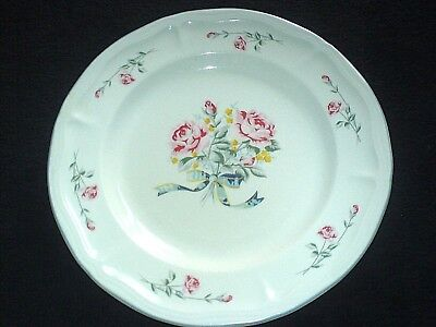 £9.99 • Buy CROWN DYNASTY Pink/Red Rose / Yellow Flower  Bouquet Pattern  11 Inch Plate