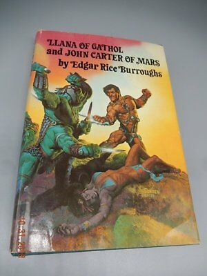 LLANA OF GATHOL & JOHN CARTER OF MARS By Edgar Rice Burroughs Double HCDJ Corben • 13$