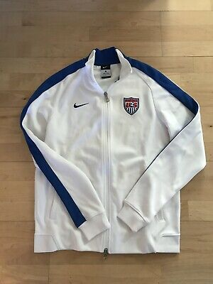 db965b40411 Nike USA Soccer Jacket Size Adult Large Training World Cup National Team  Issue • 6.00