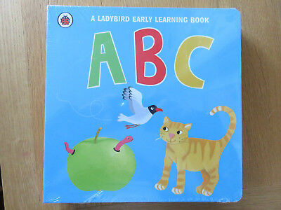 Ladybird Early Learning Series:  1.2.3, Shapes, Colours. Abc. 4 Boardback Books • 15£