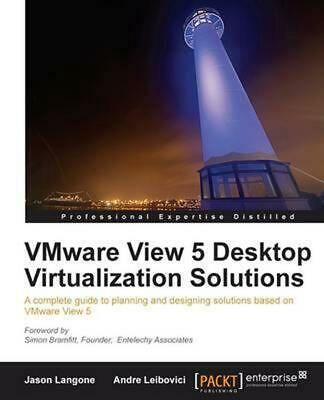 AU83.57 • Buy VMware View 5 Desktop Virtualization Solutions By Jason Langone (English) Paperb