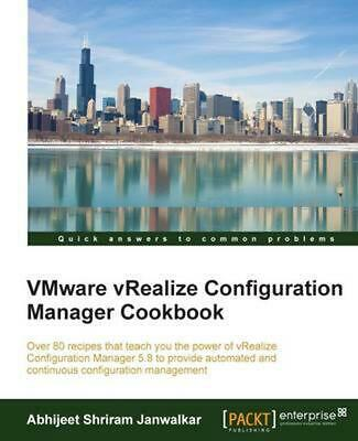 AU88.83 • Buy VMware VRealize Configuration Manager Cookbook By Abhijeet Shriram Janwalkar (En