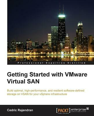 AU47.23 • Buy Getting Started With VMware Virtual SAN By Cedric Rajendran (English) Paperback