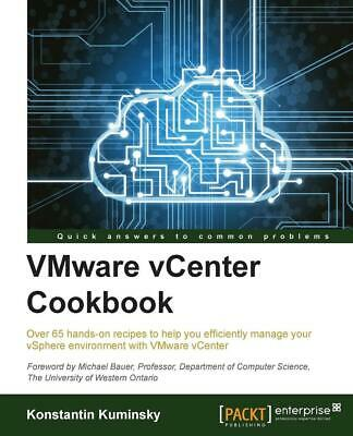 AU91.17 • Buy VMWare VCenter Cookbook By Konstantin Kuminsky (English) Paperback Book Free Shi