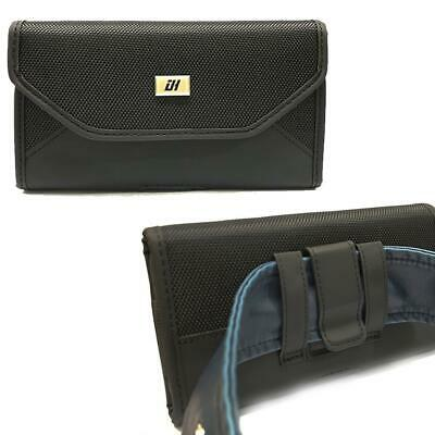 AU11.51 • Buy XXL Larger Nylon Leather Pouch Fit Smart Phone With HEAVY DUTY Otterbox Case On