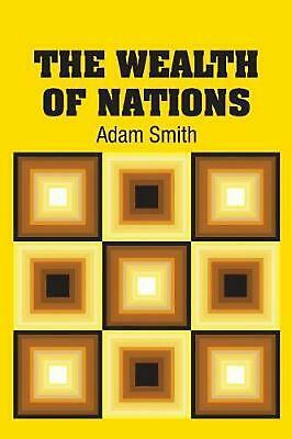 AU34.52 • Buy Wealth Of Nations By Adam Smith (English) Paperback Book Free Shipping!