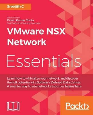 AU89.25 • Buy VMware NSX Network Essentials By Sreejith.C (English) Paperback Book Free Shippi