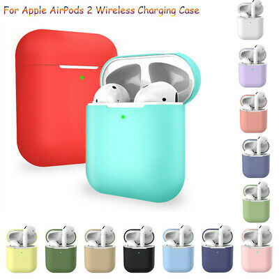 $ CDN2.08 • Buy Silicone Shockproof Protector Cover For Apple Airpod 2 Wireless Charging Case