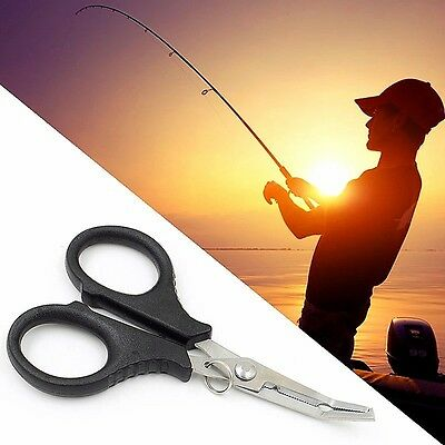 AU5.44 • Buy Multi Function Fishing Pliers Scissors Wire Line Cutter Remove Hook Tackle Tool